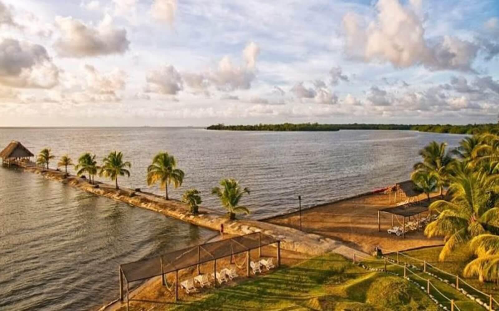 Amatique Bay.