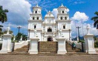 La Basílica del Santo Cristo Negro de Esquipulas