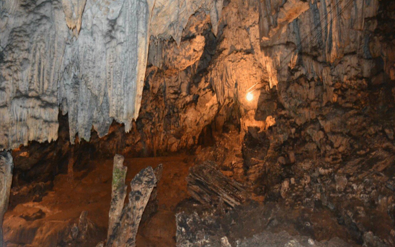 Parque Nacional Grutas de Lanquín. Foto: Daniel Vera